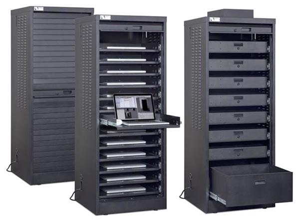 Single width cabinet image  sc 1 st  flexydata uk & Laptop Storage Cabinets | Flexydata